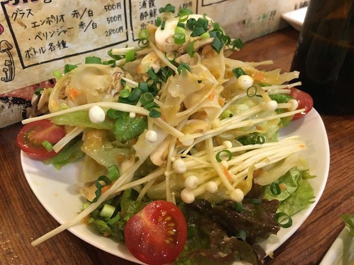 サラダにあうきのこベスト3|きのこ営業マン的ベスト3