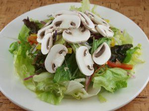 ①サラダにあうきのこベスト3|きのこ営業マン的ベスト3