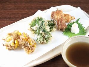 ②天ぷらにあうきのこベスト3