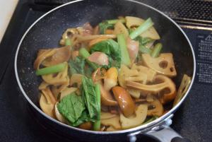 野菜炒めにあうきのこベスト3