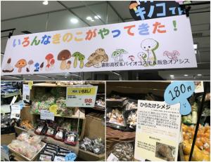 ①[CSR] 御影高校の生徒たちとスーパーで販売体験